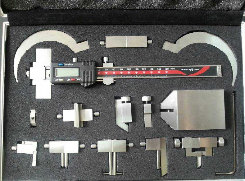 Thread Measuring Tool : Screw thread digital caliper precision electronic