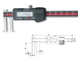 Inside Groove digital vernier Caliper with knife points hook