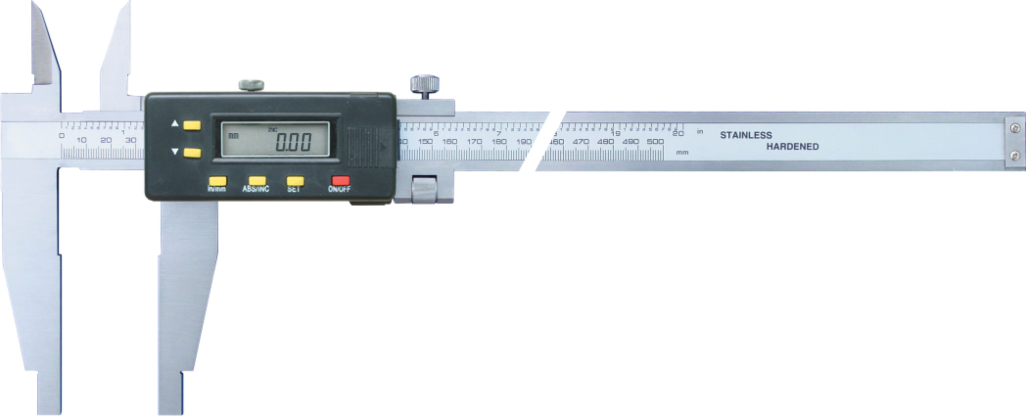 Digital Calipers with Two Types of I.D Jaws(Type E)