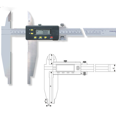 Digital Calipers Digital Caliper With Two Types Of O D