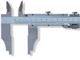 Vernier Calipers with Two Types of I.D Jaws